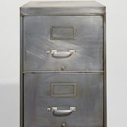 Metal File Cabinet - Clinton Hussey