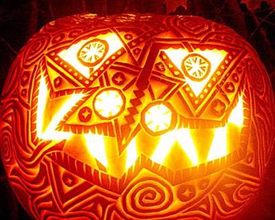 filigree pumpkin - Martha Stewart Living