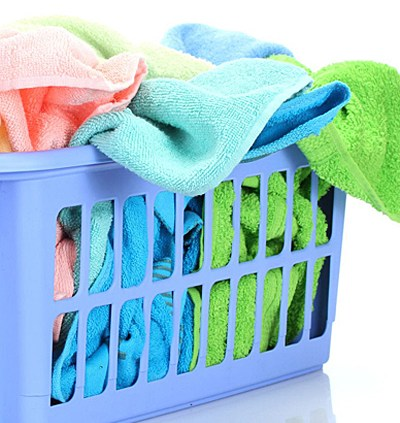 Dirty Towels- 123rf