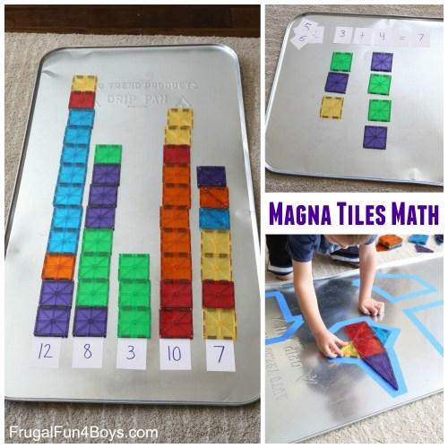 Medium Of Magna Tiles 100