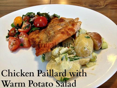 Chicken Paillard