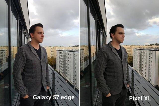 AndroidPIt google pixel XL vs samsung galaxy s7 edge 4
