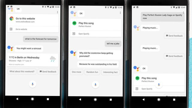 AndroidPIT Google pixel XL google assistant tripple