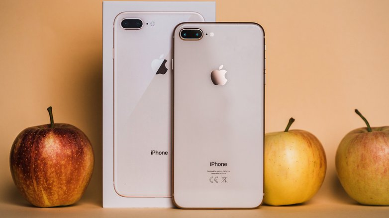 Apple iPhone 8 Plus review  Classic look  future tech   AndroidPIT AndroidPIT Apple iphone 8 0170