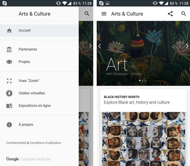 arts culture google