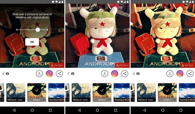 ANDROIDPIT prisma for android strength