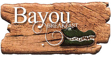 Buy You Breakfast at Bayou Breakfast