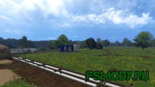 Карта «п. Новотроицкий» для Farming Simulator 2015