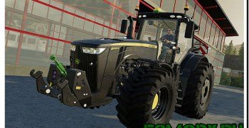 John Deere 8R Series Black v 1.0