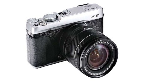 The new Fujifilm X-E1 with 18-55 XF Lens - Featured Image