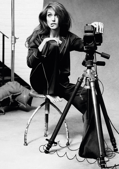 Angelina Jolie Self-portraits with a Hasselblad (1)