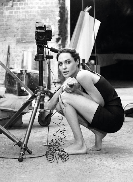 Angelina Jolie Self-portraits with a Hasselblad (5)