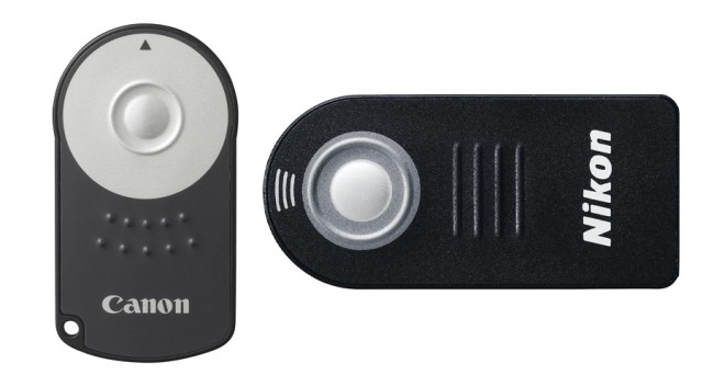 small remotes for Digital SLRs