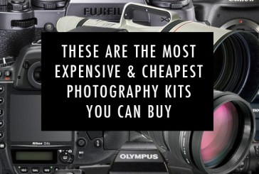 These Are The Most Expensive and Cheapest Photography Kits You Can Buy