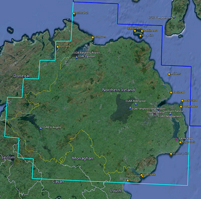 210  Maps     FTX Northern Ireland     FSX TIMES If you have installed the same links from previous posts  you will find the  Northern Ireland data already included