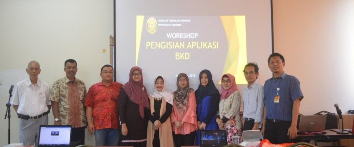 Workshop Pengisian Aplikasi BKD