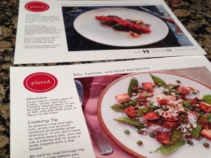 Plated Recipe Cards