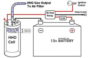 HHO Electrical Diagram