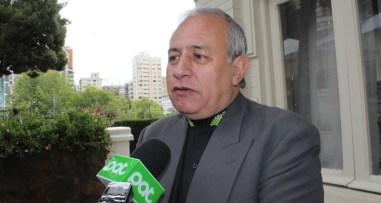 Vicepresidente, Antonio Costas, en contacto con la prensa.