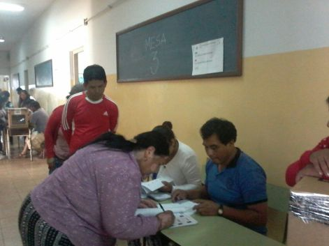 La Plata - Buenos Aires inicia la votación a las 8:15 am.