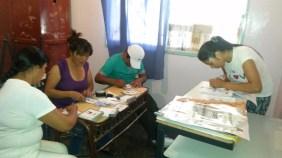 Preparando el envío de actas en Mendoza.