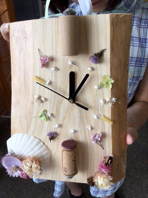 海のおとの時計