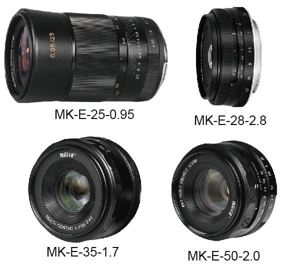 Objetivos Meike para Fujifilm