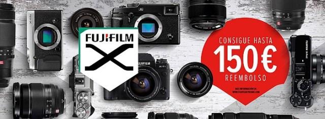 Cashback otoño/invierno 2016 de Fujifilm.