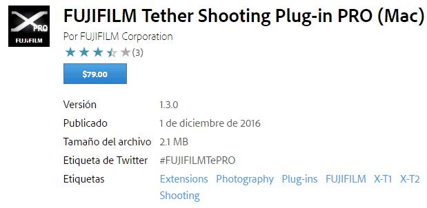 Fujifilm Tether Shooting PRO