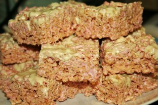 Crisped Rice Marshmallow Squares