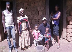Cameroon family Nain