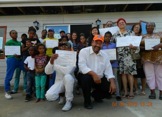 First new house dedication in Western Cape, South Africa