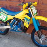 Vintage Motocross Suzuki RM125 RM250 RM400 RM465 RM500 For Sale