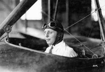 Ivan P. Wheaton at the Curtiss Flying School. (Courtesy of Kurt P. Wheaton)