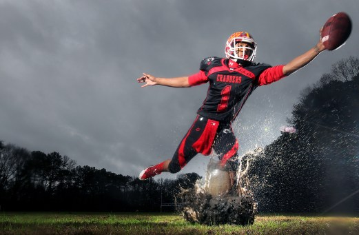 Hampton High's JoVonn Quillen is the Daily Press football offensive all-star for fall 2015.