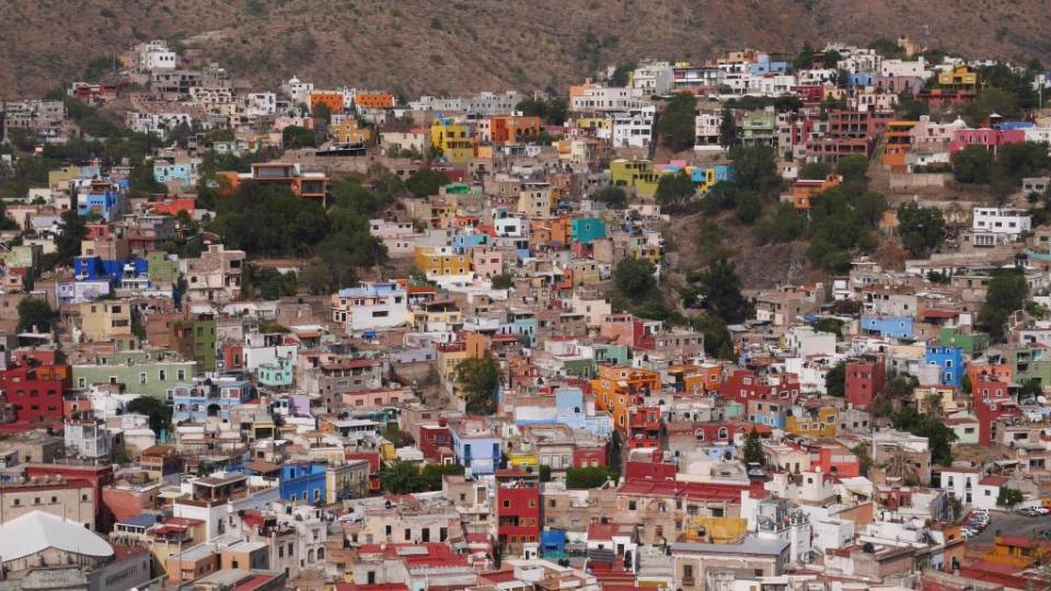 Just some of the homes housing the 200,000-plus residents of this hillside town, as seen from the El Pipila monument.