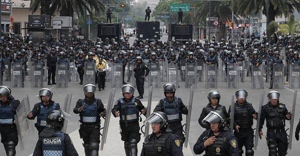 The militarized police in Mexico make most of Canada's look like amateurs.