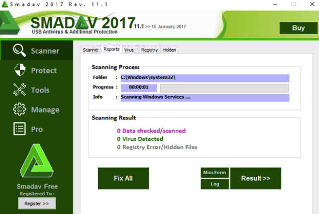 Smadav PRO 2018 Rev. 11.8 Crack & Registration Key Free Download