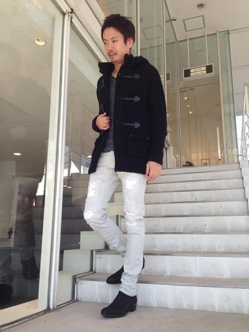 メンズ【白パンツコーデ】秋冬 ...
