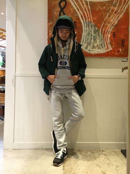 スポーツミックスのメンズ秋冬コーディネート上級編4