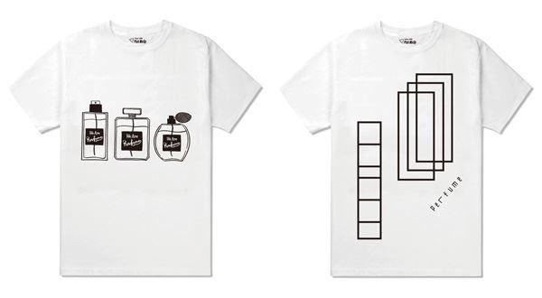 パフューム×伊勢丹コラボ第2弾「Pick Me Up Vol.2」クリエイターデザインTシャツ