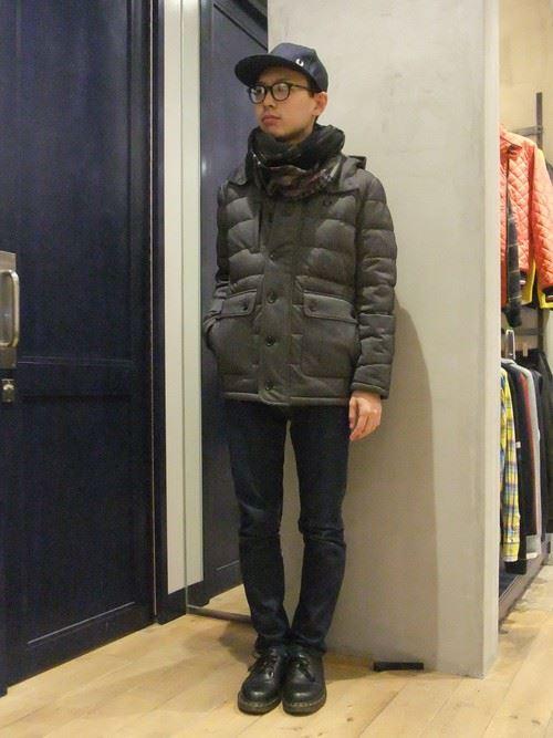スヌードメンズ秋冬コーディネート画像6