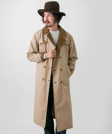 URBAN RESEARCH別注Barbour TRENCH COATの画像2