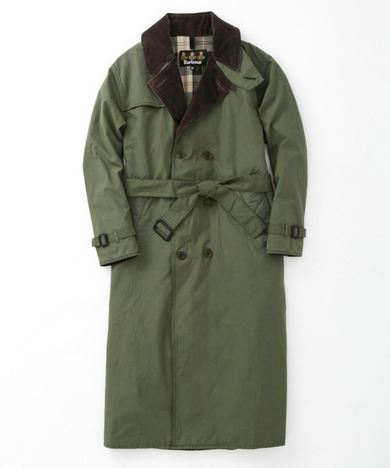 URBAN RESEARCH別注Barbour TRENCH COATの画像3
