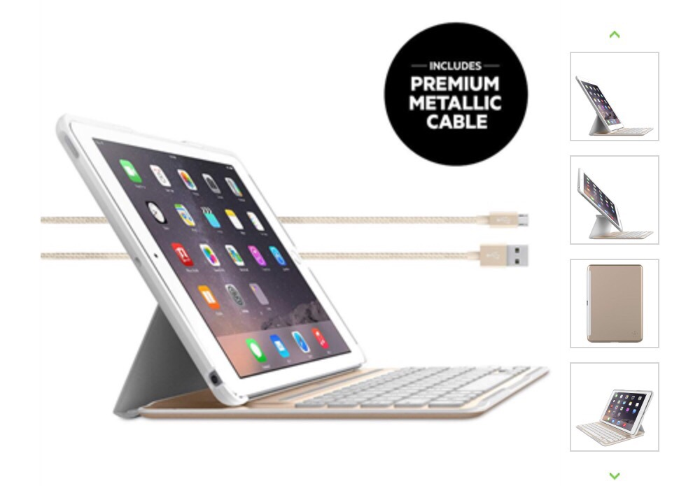 belkin iPad Ultimate Pro Keyboard Case 外付けキーボード レビュー