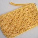 Sunny Yellow Simply Sweet Clutch w/ strap $15.00