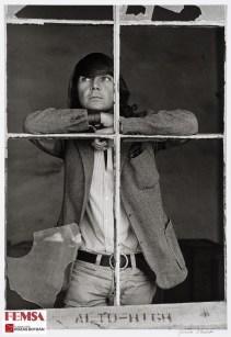 Graciela Iturbide, José Luis Cuevas, ca. 1969. Colección FEMSA