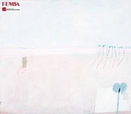 Joy Laville, Pareja en la playa, 1991. Colección FEMSA