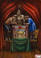 """Antonio Ruiz """"El Corzo"""", Títeres, 1933. Colección FEMSA"""