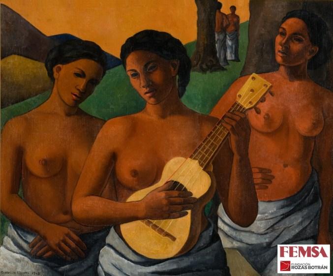 Cordelia Urueta, Mujeres, 1943. Colección FEMSA